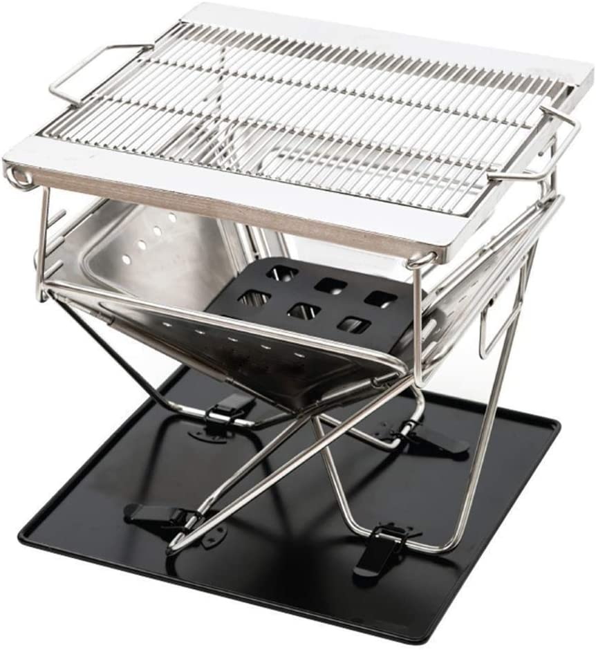 DXSKJ Barbecue Grill Super sale period limited Portable Charcoal Smoker Year-end annual account BBQ fo