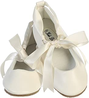 Ballerina Ribbon Tie Rubber Shoes Cinderella Flats Toddler Party
