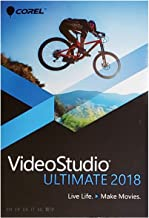 Corel VideoStudio Ultimate 2018, Standard Disc, Compatible with Windows 10, 8,7