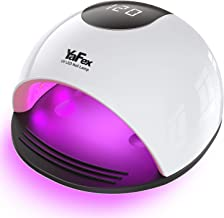 YaFex UV LED Nail Lamp - 72W Professional Gel Polish UV Light Nail Dryer with 4 Timer, Sensor, Salon Quality LED Nail Lamp for All Gel Nails Curing