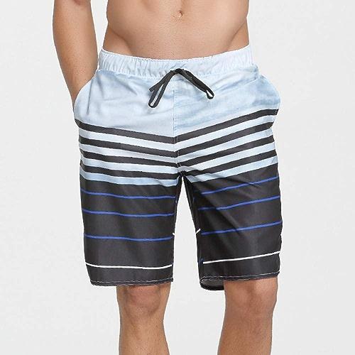 HNPYY Maillots de Bain à séchage Rapide Pantalons de Surf Slips de Surf courtes de Plage Amples Maillots de Bain Pantalons de Plage
