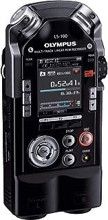 Olympus LS-100 Portable Audio Recorder, Black (LS-100)