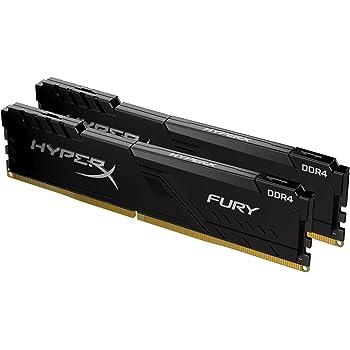 HyperX Fury HX432C16FB3K2/16 DIMM DDR4 16 GB Kit (2 x 8 GB) 3200 MHz, CL16 1Rx8, Nero