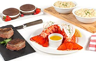 Maine Lobster Now: Surf & Turf Tail Dinner