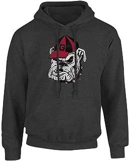 Elite Fan Shop NCAA Men's Hoodie Sweatshirt Charcoal Vintage