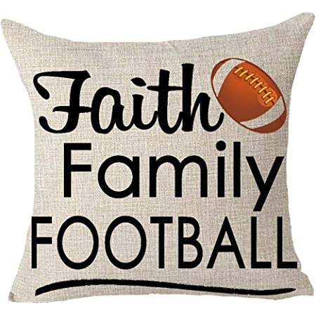 Yuhaw Fc Barcelona Football Throw Pillow Cover Square Decorative Pillowcase 18 X 18
