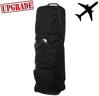 Zeudas Golf Travel Bags for Airlines with Wheels, Club Case Covers