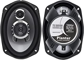 """$79 » Car Audio Component Subwoofers Coaxial Speakers 1000w Watt Max 6""""x9""""Inch for Boat、 Car、 Yacht、Rv、 Outdoor (1 Pair)"""