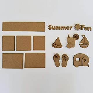 Foundations Décor, Shadow Box Kit - Summer Fun