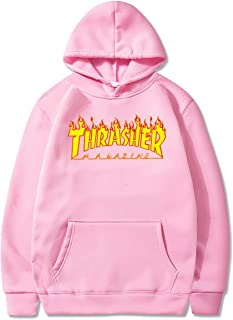 Best pink thrasher sweatshirt Reviews