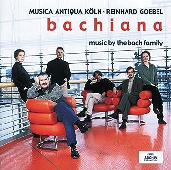 Bachiana I - Music by the Bach Family