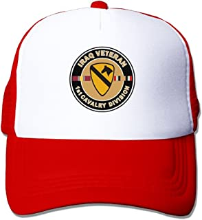 Proud US Army 4th Armored Division Unit Crest Veteran Mens Beanie Cap Skull Cap Winter Warm Knitting Hats.