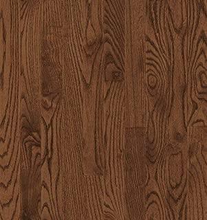 Bruce Hardwood Floors CB217 Dundee Strip Solid Hardwood Flooring, Saddle