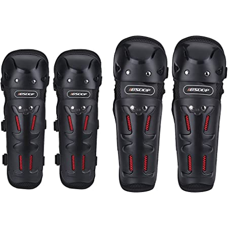 QYXANG Motocross Equipment Knee Pad Moto Protective Gear Motorcycle Elbow /& Knee Pads Protectors