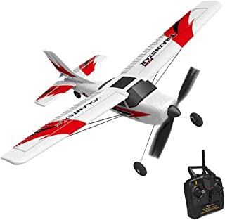 YOCrazy-US Direct RC Airplane Remote Control Airplane TrainStar Mini 2.4GHz RC Plane Ready to Fly with 2.4GHz Control, 6-Axis Gyro Easy to Fly for Beginners