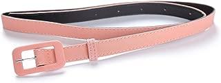 Womens Belt- Solid Color Basic Belt for Casual Formal Dress or Jeans