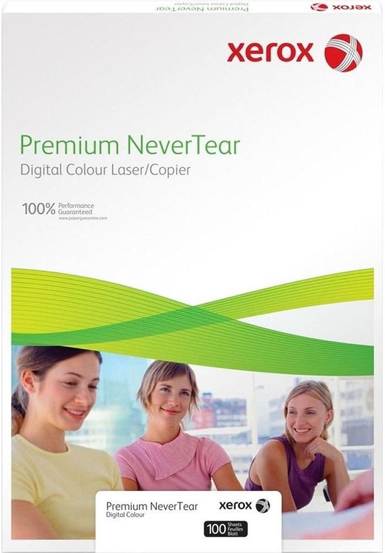 Xerox Premium Druckerpapier, reißfest, weiß, A4, 95mic, 100 Stück, für Laserdrucker, 003R98056 B00JWLSZY6    Zuverlässige Leistung