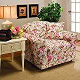 Madison Jersey Chair Slipcover, Pink