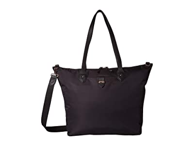 Lipault Paris Plume Avenue Travel Tote Bag (Jet Black) Bags