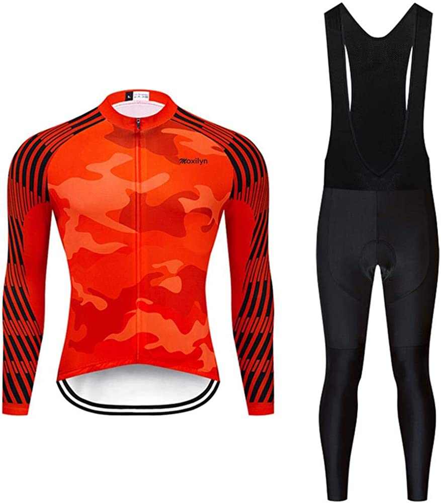 Men Cycling Jersey Set Popular shop is the lowest price challenge Long Pro National products Riding Clothes Sleeve Qu