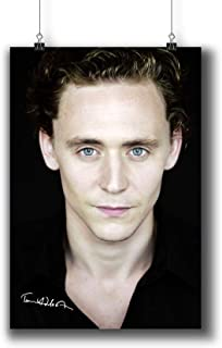 Tom Hiddleston Actor Movie Photo Poster Prints 186-006 Reprint Signed,Wall Art Decor for Dorm Bedroom Living Room (A4|8x12inch|21x29cm)