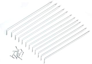 ClosetMaid 21775 12-Inch Support Brackets for Wire Shelving, 12-pack