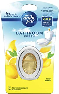 Ambi Pur Bathroom Fresh Air Freshener, Zesty Lemon, 6ml