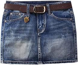 ARTFFEL Womens Low Rise Summer Bodycon One Pace Pockets Mini Denim Skirts