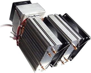 DC 12V Peltier Refrigeración Refrigeración por aire Radiador Sistema de bricolaje 20A 180W Aire acondicionado para refrigerador de semiconductores
