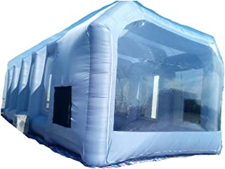 Inflatable Spray Booth Custom Tent Car Paint Booth Inflatable Car (26x13x10Ft)