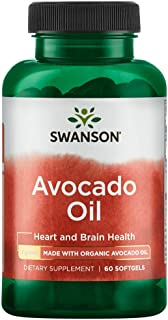 Swanson Avocado Oil 1 Gram 60 Sgels