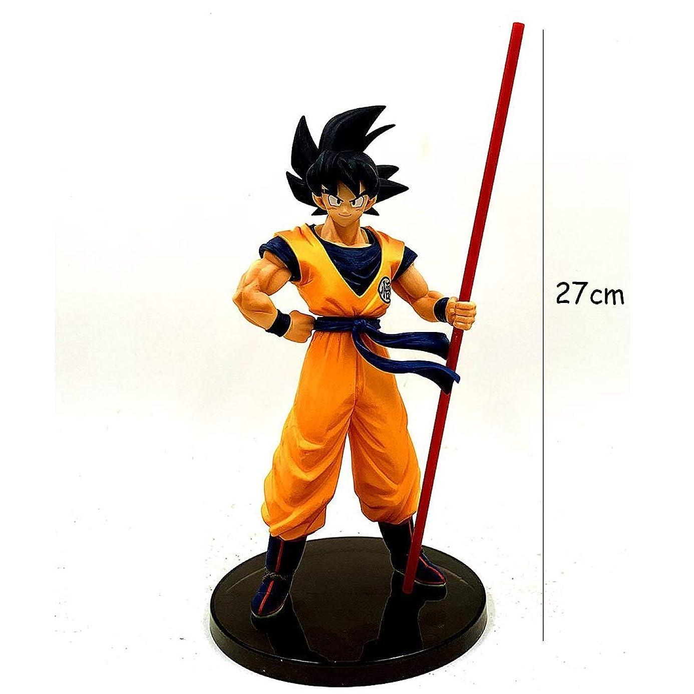 危険なジェームズダイソン階層アニメドラゴンボールモデル、PVC子供のおもちゃコレクションスタチュー、卓上装飾玩具スタチュー玩具モデル、Zブラックハットウコン(27cm) JSFQ