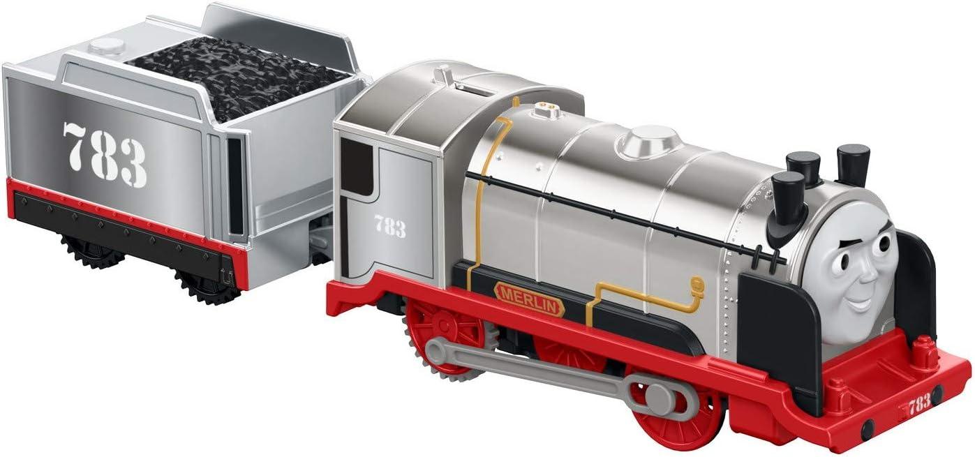 Motorized Train Thomas Merlin TrackMaster Playset Fisher Price Kids