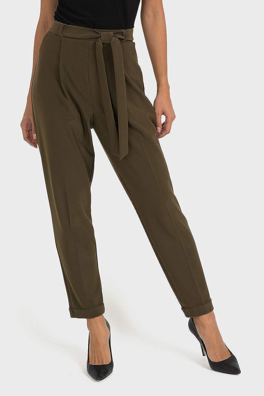 Joseph Ribkoff Safari Green Pant Style 193124