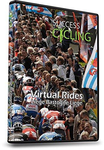 Virtual Rides Liege Bastogne Liege Indoor Cycling Trainer DVD