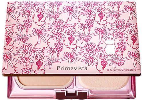 ソフィーナ プリマヴィスタ きれいな素肌質感パウダーファンデーション(オークル03)+限定ムーミンデザイン...