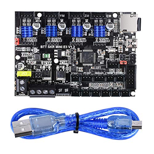 BIGTREETECH SKR Mini E3 V1.2 Control Board 32Bit with TMC2209 UART Driver 3D Printer Parts Cheetah for Creality Ender 3