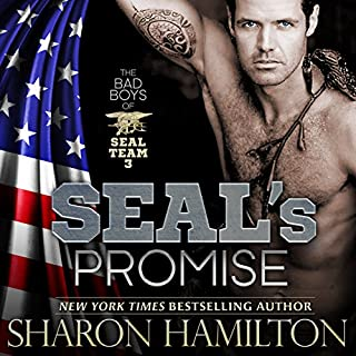 SEAL's Promise     Bad Boys of Team 3, SEAL Brotherhood Series, Book 8              By:                                                                                                                                 Sharon Hamilton                               Narrated by:                                                                                                                                 J.D. Hart                      Length: 8 hrs and 11 mins     132 ratings     Overall 4.3