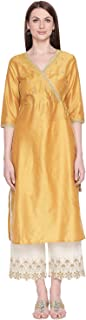 Rangmanch By Pantaloons Women's synthetic straight Salwar Suit Set