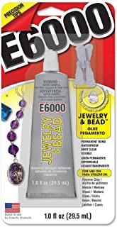 Eclectic Products 242001 2 Pack E6000 Jewelry and Bead Adhesive 1oz