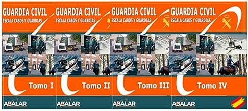 Guardia Civil - PACK AHORRO Temario Completo - 4 tomos (GUARDIA CIVIL. ESCALA DE CABOS Y GUARDIAS)