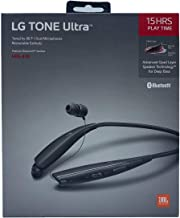 LG Tone Ultra HBS-835 Bluetooth Stereo Headset - Wireless with JBL Signature Sound (Black)