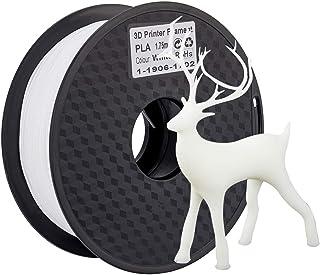 Creality 3Dプリンター用 フィラメント PLA 純正品 1KG 1.75mm 寸法精度+/- 0.02 mm 高純度 高密度 生分解性 3Dフィラメント ホワイト