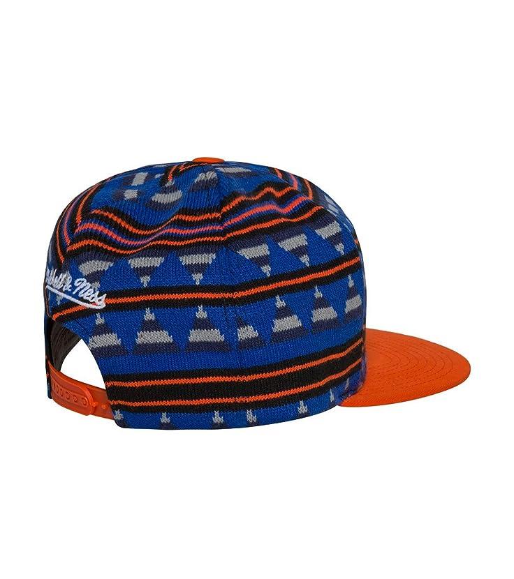 Mitchell & Ness Men's NBA New York Knicks Mixtec Snapback Hat