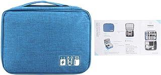FTVOGUE Sac de Rangement pour Disque Dur Portable Câble USB Alimentation Banque Casque Accessoires de téléphone Portable n...