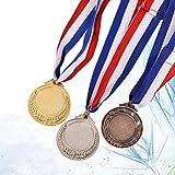 TOYANDONA 3pcs Metal Ganador del Estilo olímpico medallas de Premio de...