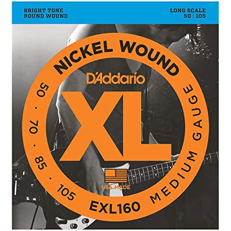 Fender 7250 Nickel-Plated Steel Wound Long Scale .045-.125 5-String Bass Saiten