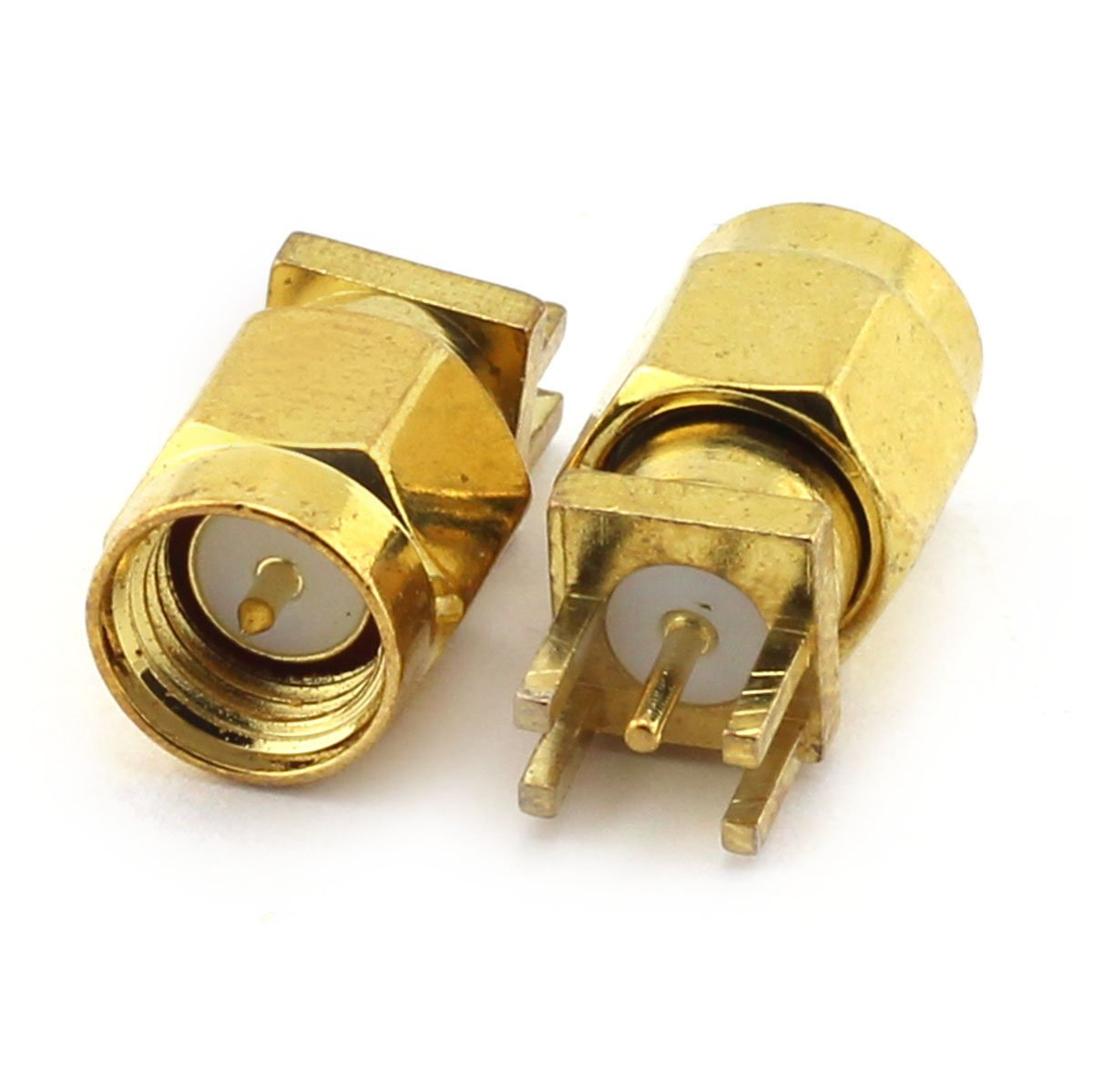 2PCS SO239 UHF Female to Female adapter Wi-Fi Radios External Antenna TM SO-239 Connector with Panel Coaxial cable RF Coaxial Coax Adapter for Antennas Eagles 4 Holes Wireless LAN Devices