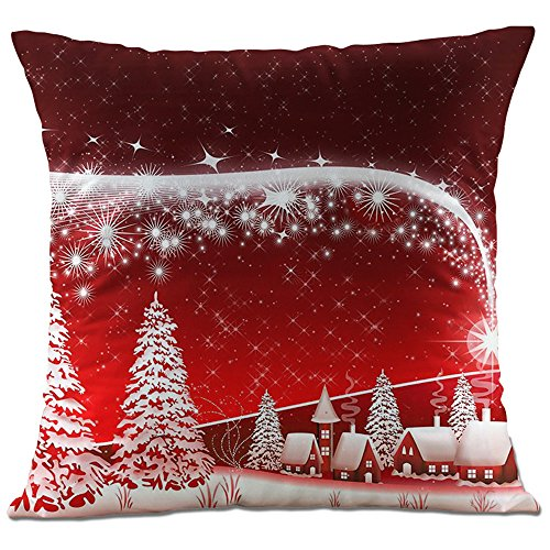 Hangood Soft Plush Throw Pillow Case Cushion Covers...