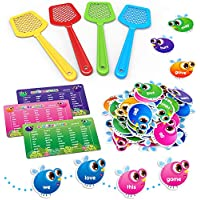 120-Pieces SpringFlower Sight Word Game